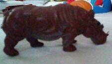 "Toy Hippopotamus - Measures approx 2"" L x 1"" H x 7/8"" wide"