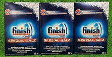 (2,75€/kg) 3x Finish Calgonit Spezial Salz 1,2kg Schutz Kalkablagerungen Vers.0€