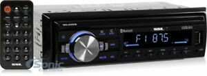 SoundStorm ML46DB Single-DIN Mechless Bluetooth AM/FM In-Dash Car Stereo
