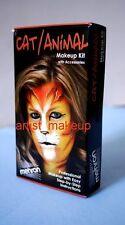 Mehron Complete Student Cat/Animal Makeup Kit Set Professional