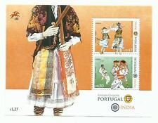 Portugal 2017 - Joint Issue with India - Dances S/S MNH