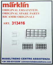 MARKLIN 313416    SET VETRI CABINA GRU   SET FENSTER 76515