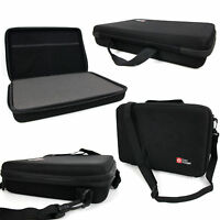 EVA 'Shell' Storage Case in Black with Customizable Foam for Lexibook Move Cam