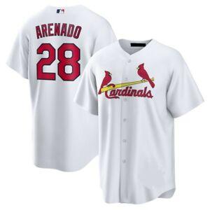 Nolan Arenado St. Louis Cardinals Player Jersey White XS-4XL