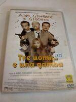 DVD TRE UOMINI E UNA GAMBA