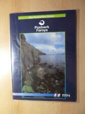 Faroer 1994 annuario Yearbook faroe ** MNH