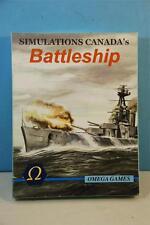 Simulations Canda's Battleship - Omega Games 2005 Unpunched