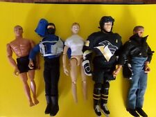 5 loose Gi Joe / Action Man Figures