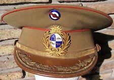 WW II ERA URUGUAYAN PRESIDENT GENERAL DE DIVISION ARQ. ALFREDO BALDOMIR HAT CAP