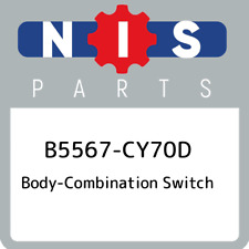 B5567-CY70D Nissan Body-combination switch B5567CY70D, New Genuine OEM Part