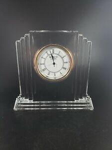 Waterford Crystal Mantel Clock. No Box!!!