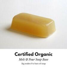 Organic 1kg Melt and Pour Soap Base Natural Plant Soap Base make Own Soap