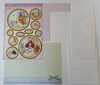 Hunkydory Little Paws Puppy Friends Cardmaking Pack  Makes 4 Cards