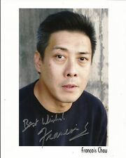 Hand Signed 8x10 photo FRANCOIS CHAU - LOST - DR PIERRE CHANG  + my COA