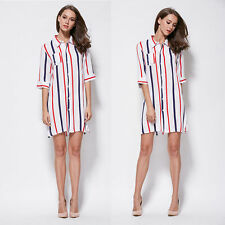 Blouse Polyester Striped Casual Tops & Shirts for Women