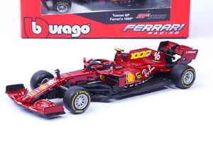 Charles Leclerc Ferrari SF1000 Mugello Modellino F1 2020 1/43 Burago