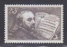 France 1942 MNH Mi 553 Sc B131 Emmanuel Chabrier, French composer,musician **