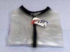Motocross Trials MX Enduro Off Road Waterproof Rain Mud Jacket Clear Medium J607