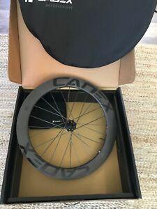 Cadex 65mm Carbon rear wheel, Disc, Shimano 11 or Sram XDR 12sp,Tubeless, NIB!