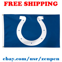 Deluxe Indianapolis Colts Team Logo Flag Banner 3x5 ft NFL Football 2019 NEW