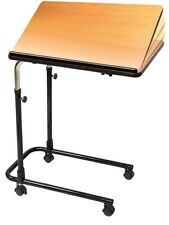 Overbed Table Tilting Adjustable Medical Mobility Chair Hospital P568 Carex Home
