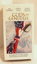 GODS AND GENERALS VHS Tape...Civil War...Robert Duvall...2003...2-Tape Set...NIP