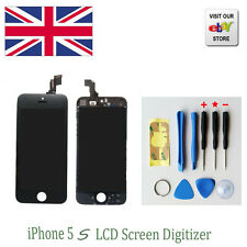 LCD Touch Screen Display Digitizer Assembly Replacement for iPhone 5S  -UK stock