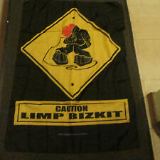 Limp Bizkit Textile Poster Flag Rare New resealed packaging