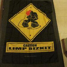 LIMP BIZKIT TEXILE POSTER FLAG RARE NEW resealed packaging