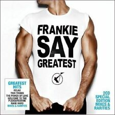 FRANKIE GOES TO HOLLYWOOD FRANKIE SAY GREATEST RARE 2CD