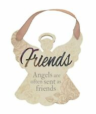"Delicate Words Angel Hanger ""Friends"""