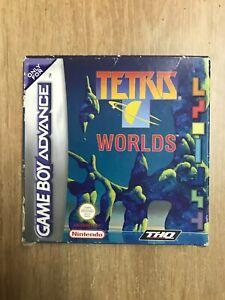 Boite Vide Tetris Worlds Game Boy Advance