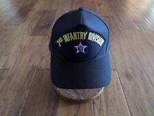 U.S ARMY COMBAT ARTILLERY HAT U.S MILITARY OFFICIAL BALL CAP U.S.A MADE