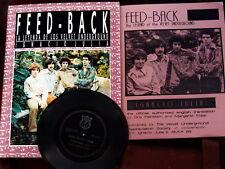 Feed-Back: The Legend of the Velvet Underground  / 1986 Books w/VU Flexi  Mint-!