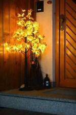 Dekobaum mit Herbstlaub  Beleuchtung mit  LEDs ,Lichterbaum  180 cm * NEU  *