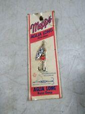 Vintage Mepps Aglia Long Runs Deep Zero French Spinner Fishing Lure NOS MOC