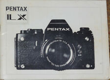 Pentax Lx Camera Manual