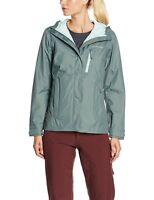 Columbia Omnitech -Waterproof /Breathable Guaranteed Womens Jacket -Size S/P Gra