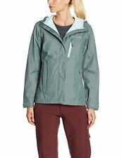 Columbia Omnitech -Waterproof /Breathable Guaranteed Womens Jacket -Size S/P Gra