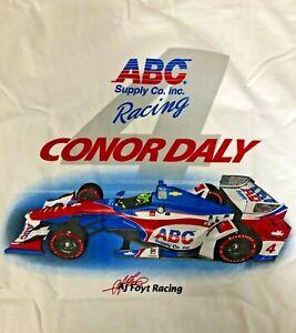 AJ Foyt Racing Garage Sale - Conor Daly #4 IndyCar Indy 500 ABC Supply Co