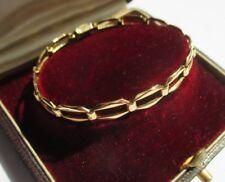 Superbe bracelet ancien Art Déco - Gold or jaune massif 18 carats 750 - 9,2g