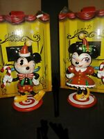 Enesco Disney Showcase Collection Mickey Mouse and Minnie Mouse 2019 Figurines