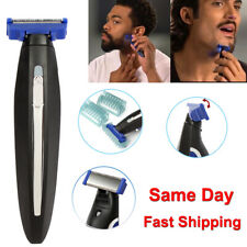 New All-in-one Trimmer Electric Razor Rechargeable Beard Hair Cleaning Shaver US