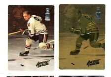 BOBBY HULL, 1993 Action Packed Prototype cards -Regular #BH1 & RARE GOLD #BH2,