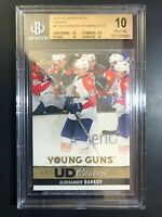 2013-14 Upper Deck Aleksander Barkov Young Guns Canvas Rookie BGS 10