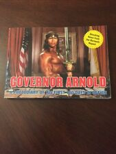 Governor Arnold 100 Days In Office Comedy Spoof Book Schwarzenegger