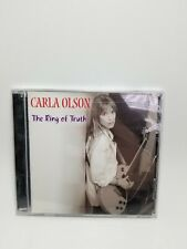 """CARLA OLSON CD """"The Ring Of Truth"""" 2002 Smile NEW Sealed 12 Tracks"""