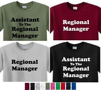 Assistant To The Regional Manager or Regional MANAGER T-shirt The office  dunder