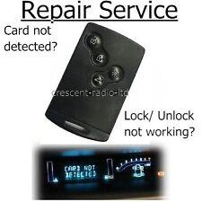 REPAIR SERVICE Renault Laguna Espace VI Vel Satis key card fob remote plip +Case