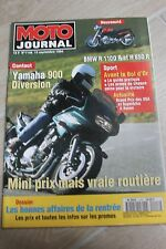 MOTO JOURNAL N°1148 BMW R1100 R YAMAHA XJ 900 S DIVERSION BOL D'OR GP USA 1994